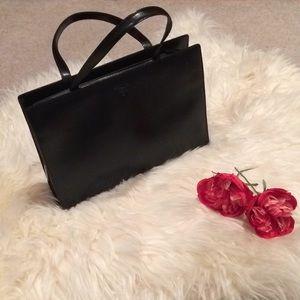 Authentic Prada Women Small Leather Tote Bag